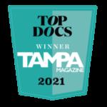 Tampa Magazine Top Docs Winner 2021
